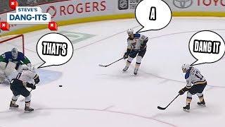 NHL Worst Plays Of The Week: 3 On Noooooooo!   Steve's Dang-Its