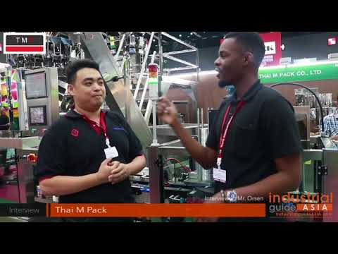 Interview - Thai M Pack - ProPak Asia 2017 - Industrial Guide Asia
