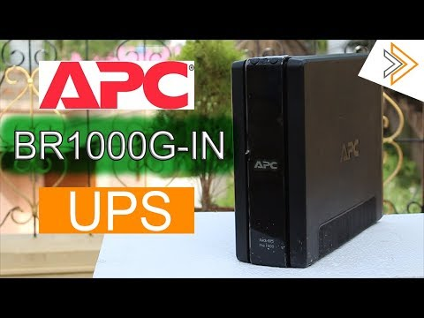 Best in Class UPS - APC BR1000G-IN Back Pro 1000 with LCD Review   [ in Hindi ]