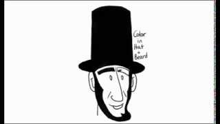How to Draw Abraham Lincoln With Easy Steps