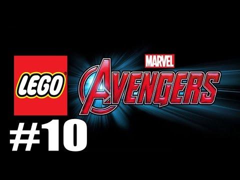 LEGO MARVEL's Avengers #10 - Age Of Ultron - Captain America Vs Ultron Fight