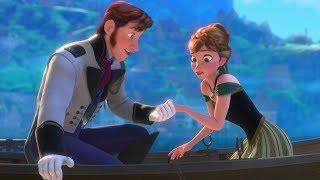 Frozen - Anna Meets Hans (Albanian) Mbretëresha e dëborës - Dubluar në shqip