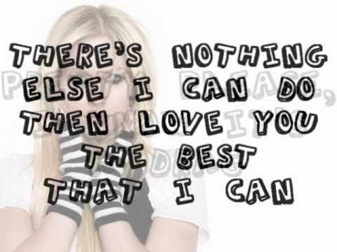 Avril Lavigne - Darlin Lyrics