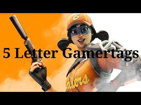 Clean OG 5 Letter Fortnite Gamertags Not Taken 2019 (Xbox/PS4) Pt 4