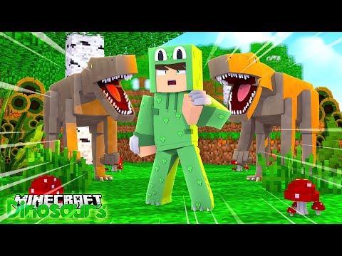 WE GOT OUR VELOCIRAPTOR! - Minecraft Dinosaurs w/ Little Lizard