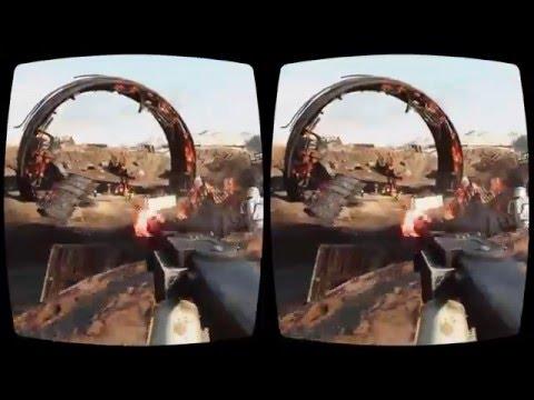 Star Wars Battlefront mod in Oculus Rift 3D VR demonstration 2016