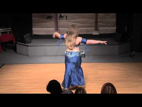 Stephanie ~ Belly Dance Drum Solo