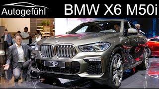 all-new BMW X6 M50i REVIEW Exterior Interior 2020 - Autogefühl