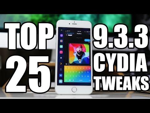 NEW Top 25 BEST Jailbreak Tweaks - iOS 9.3.3
