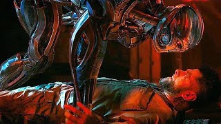 Ultron Cuts Off Klaw's Arm Scene - Avengers: Age of Ultron (2015) Movie CLIP HD