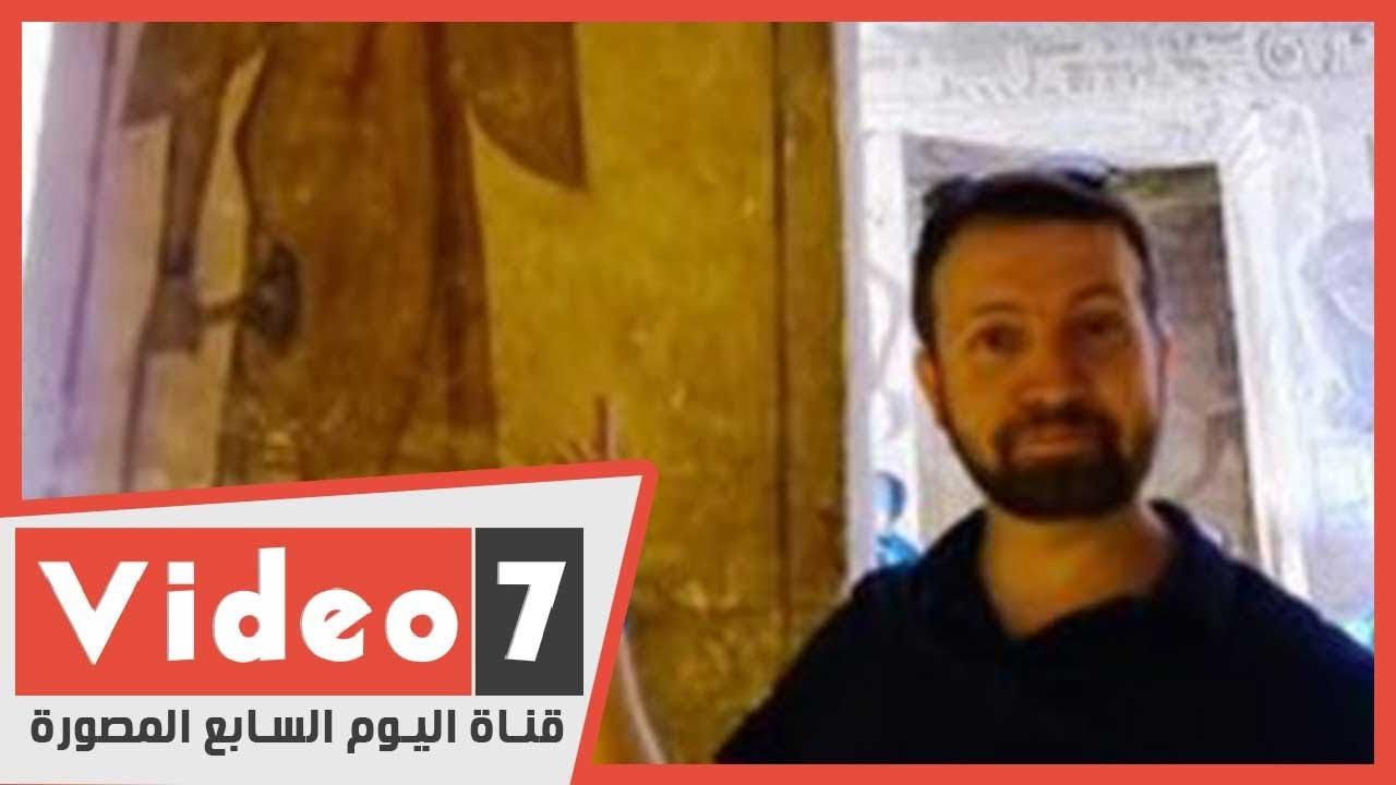 فيديو.. رحلة علاج سائح أمريكى من فيروس كورونا بمصر