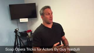 Soap Opera Tips For Actors