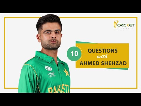 10 Questions With Ahmed Shehzad | Kohli, Kareena And Beckham