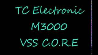 TC M3000 Demo 1 tc electronic m3000