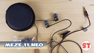 MEZE 11 NEO - розпакування гарнітури з відмінним АЧХ