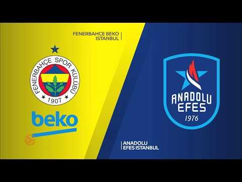 Fenerbahce Beko Istanbul - Anadolu Efes Istanbul Highlights | Turkish Airlines E