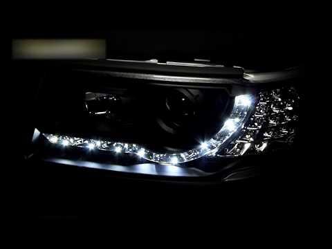 Фары Ауди 100 тюнинг | Headlights Audi 100 C4