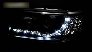 Фары Ауди 100 тюнинг | Headlights Audi 100 C4