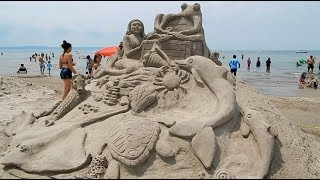 Sand Sculptures 2018 Wasaga Beach Waterfront Festival