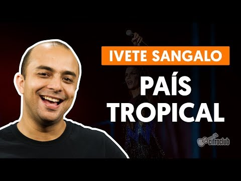 PAÍS TROPICAL - Ivete Sangalo (aula de bateria)