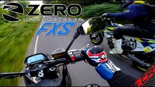 Zero FXS Electric Motorcycle Review | Final Thoughts & DRAG RACE!!