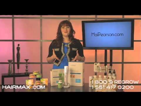 HairMax Featured On The Daily Buzz Morning Show With Mal Pearson 2012