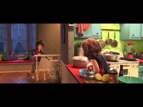 Big Hero 6 MOVIE CLIP - Low Battery (2014) - Disney Animation Marvel Movie HD
