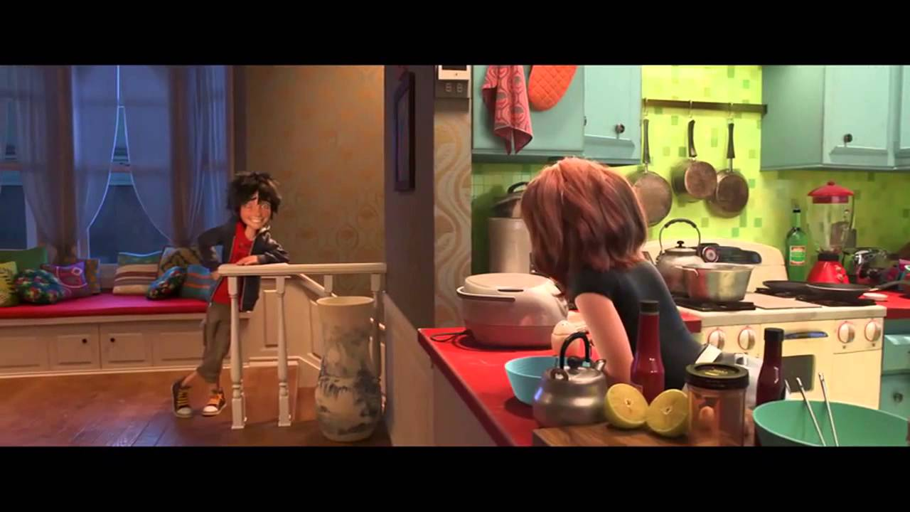 Big hero 6 credits scene they are not only books - Big Hero 6 Movie Clip Low Battery 2014 Disney Animation Marvel Movie Hd Youtube