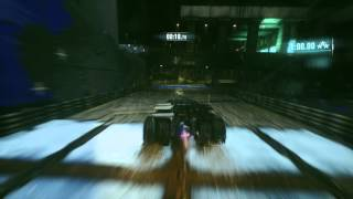 Batman Arkham Knight Ashes Race Track with The Dark Knight Trilogy Batmobile