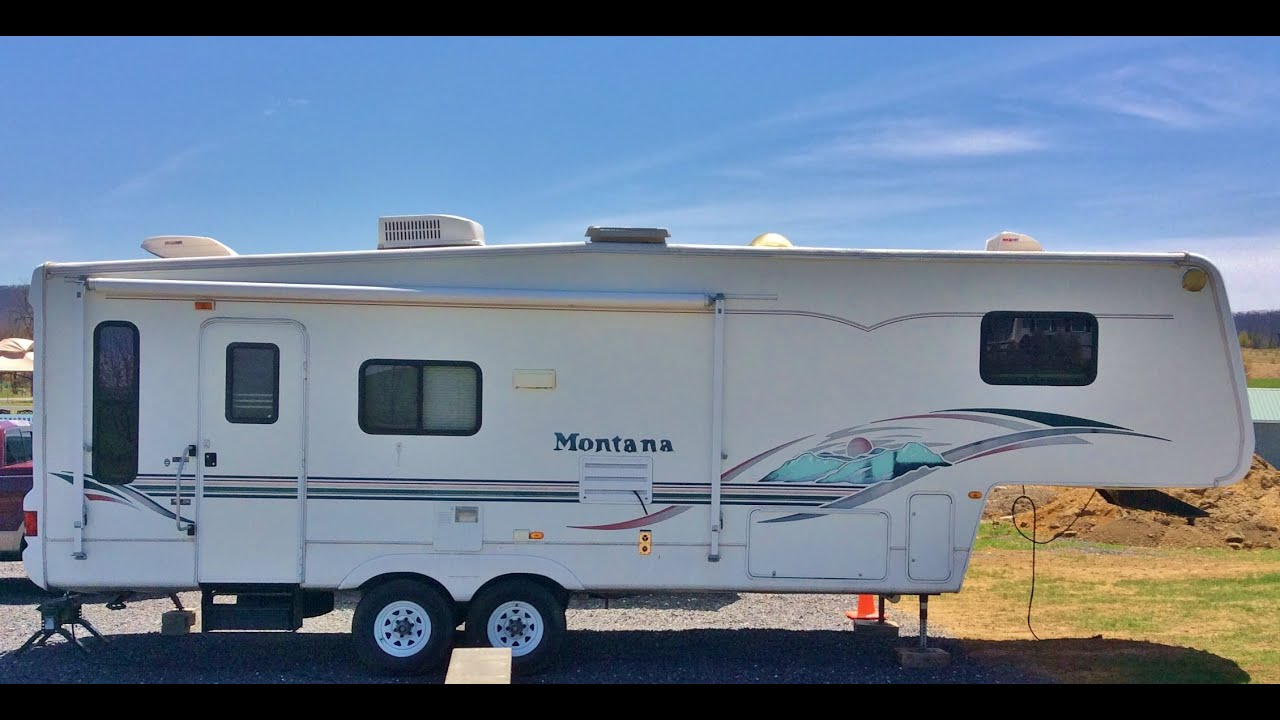 2002 5th Wheel Camper, Montana By Keystone RV Co., Model
