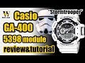 GA 400 G-Shock 5398 module - review & tutorial how to setup and use EVERYTHING (HR&EN subtitles)