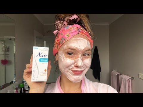 Burning My Face With Nair Youtube