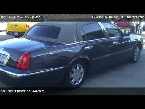 2001 Lincoln Town Car Executive For Sale In Salt Lake City Ut