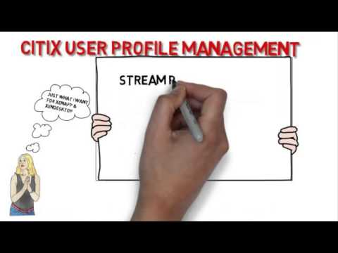 Citrix User Profile Management on XenApp