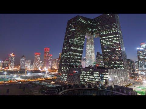 Beijing China 2021 4K