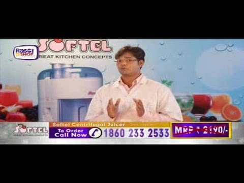 Softel Centrifugal Juicer - TVC : Television Commercial