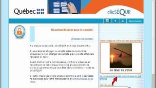 Le service Mon dossier en ligne de revenu Québec et inscription via ClicSéQur