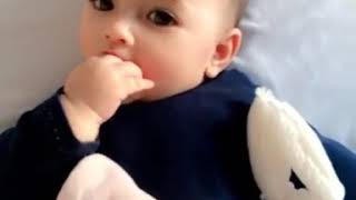 Viral Cute Baby girl Dhuhaa Sophea 2