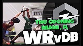 🔥 The Opening Regionals | Miami Florida | WRs v DBs | 1v1s | Under The Radar Highlight Mix