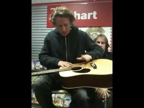 Ben Howard - These Waters Solo Acoustic at Phoenix Sound. Best Quality.
