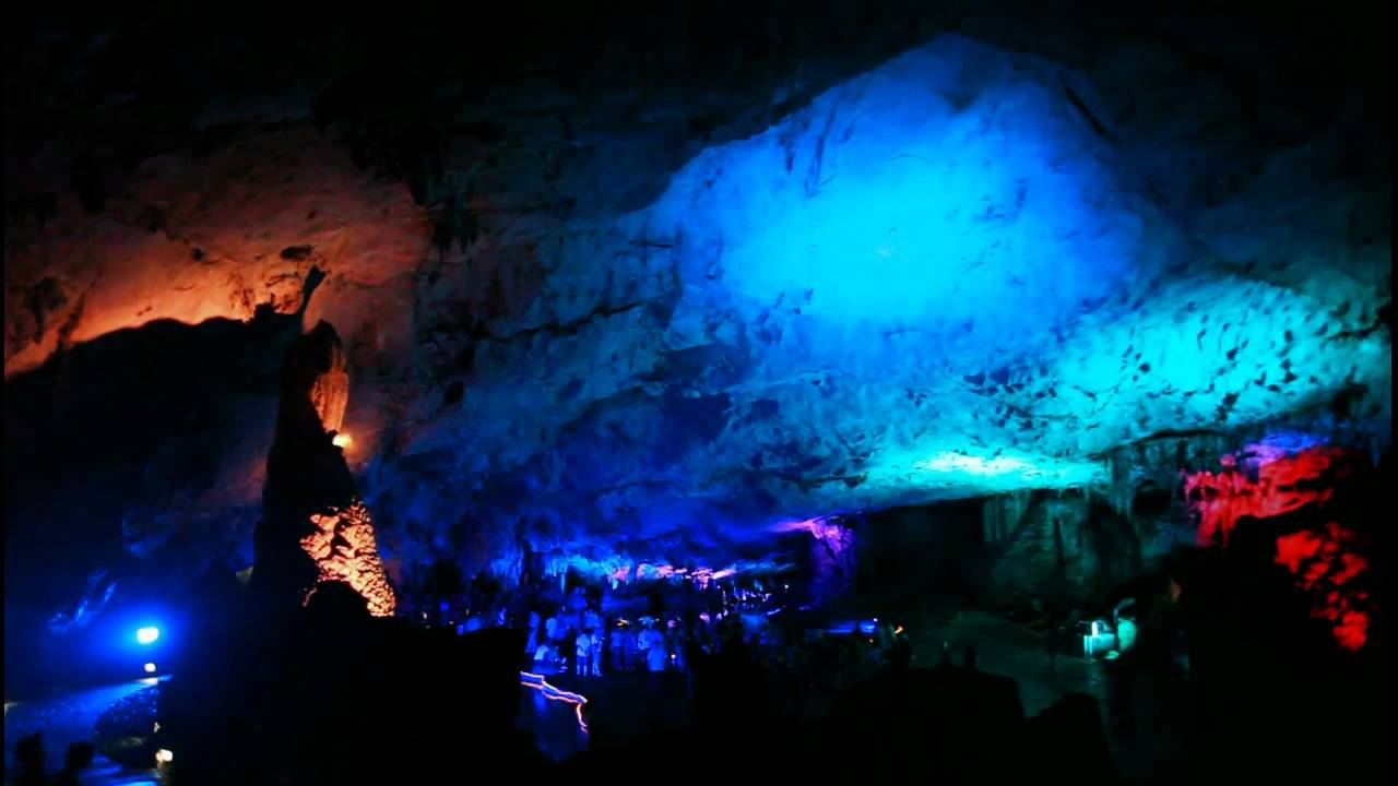 Reed Flute Cave Guilin China Youtube