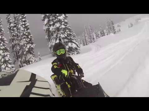 The search for white gold snowmobiling in Revelstoke, BC