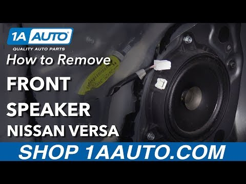 How To Replace Front Door Speaker 12-19 Nissan Versa