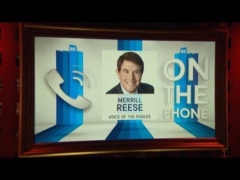 Radio Voice of the Philadelphia Eagles Merrill Reese Joins The RE Show in Studio - 2/6/18