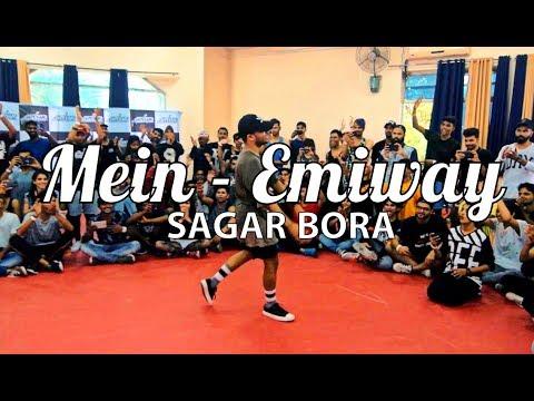 Mein - Emiway | Sagar Bora | Urban Dance Week 5 | Pune 2017
