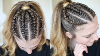 Pinterest Inspired Braided Ponytail | Ponytail Hairstyles | Braidsandstyles12