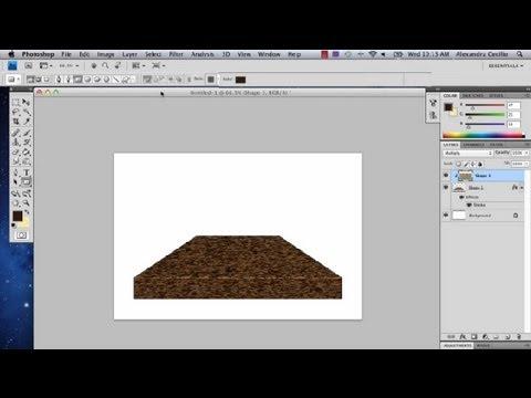 How To Draw A Shelf In Photoshop Photoshop Tutorials Youtube
