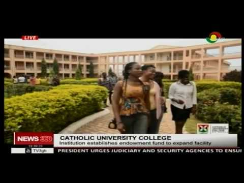 Catholic University College establishes endowment fund to expand facility