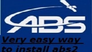 how to install abs2 free dish in hindi