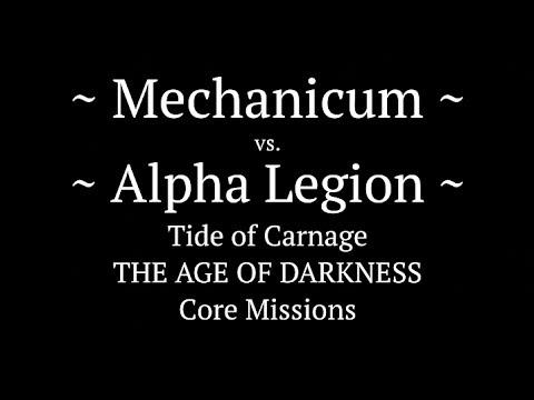 M.31 - Horus Heresy Battle Report - Ep 38 - Mechanicum vs. Alpha Legion